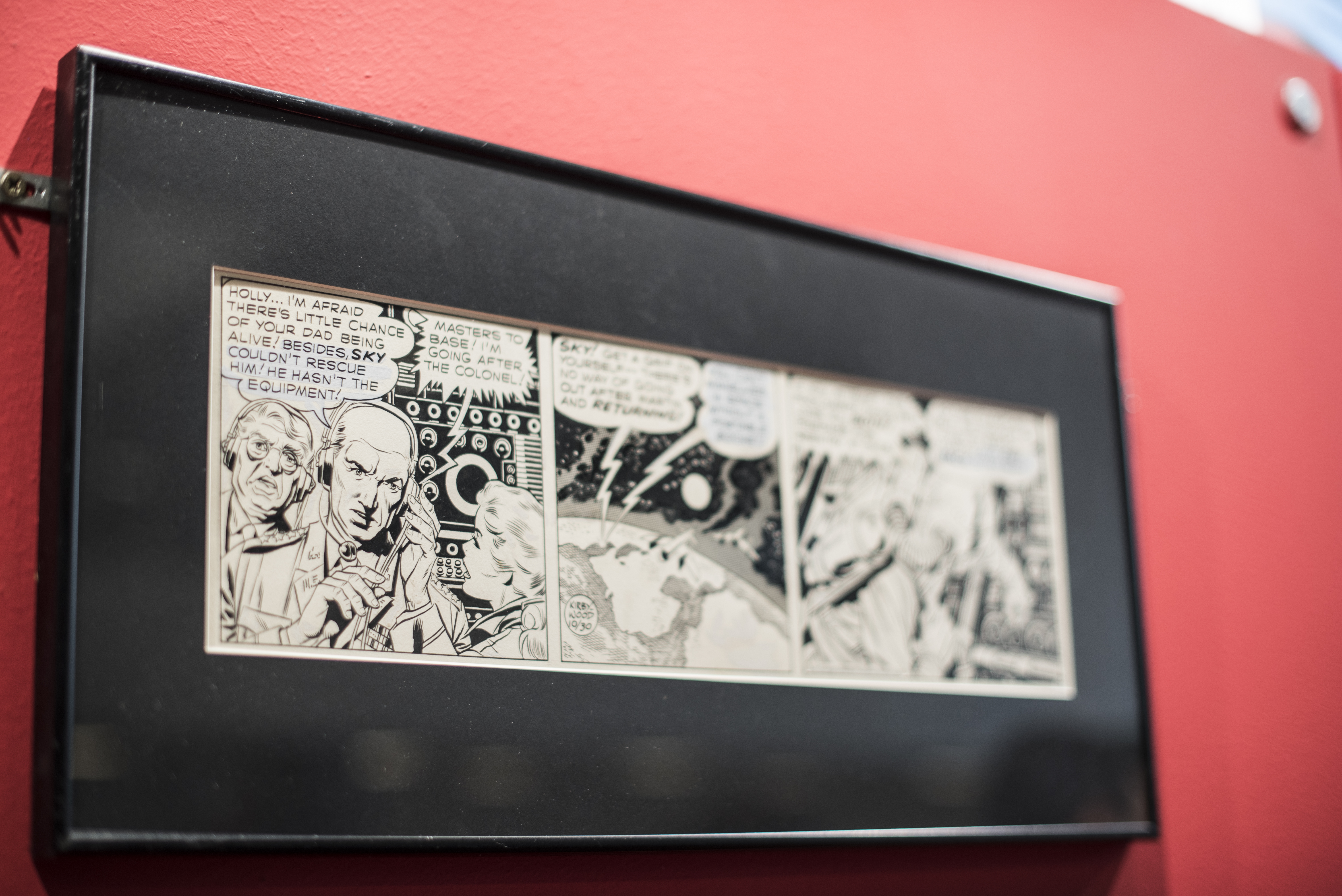 Expo de Jack Kirby, the King of Comics