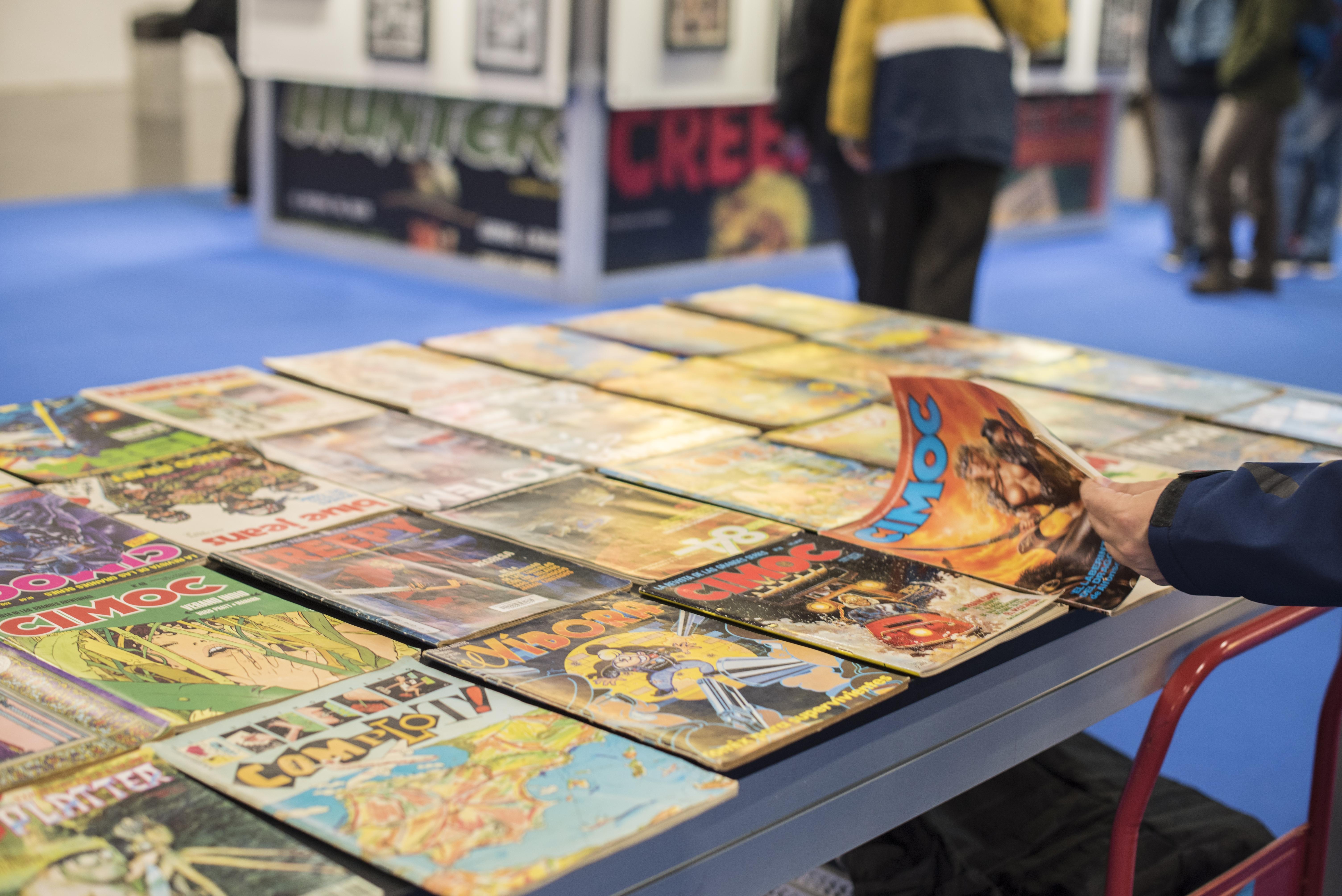 Las revistas del boom del cómic
