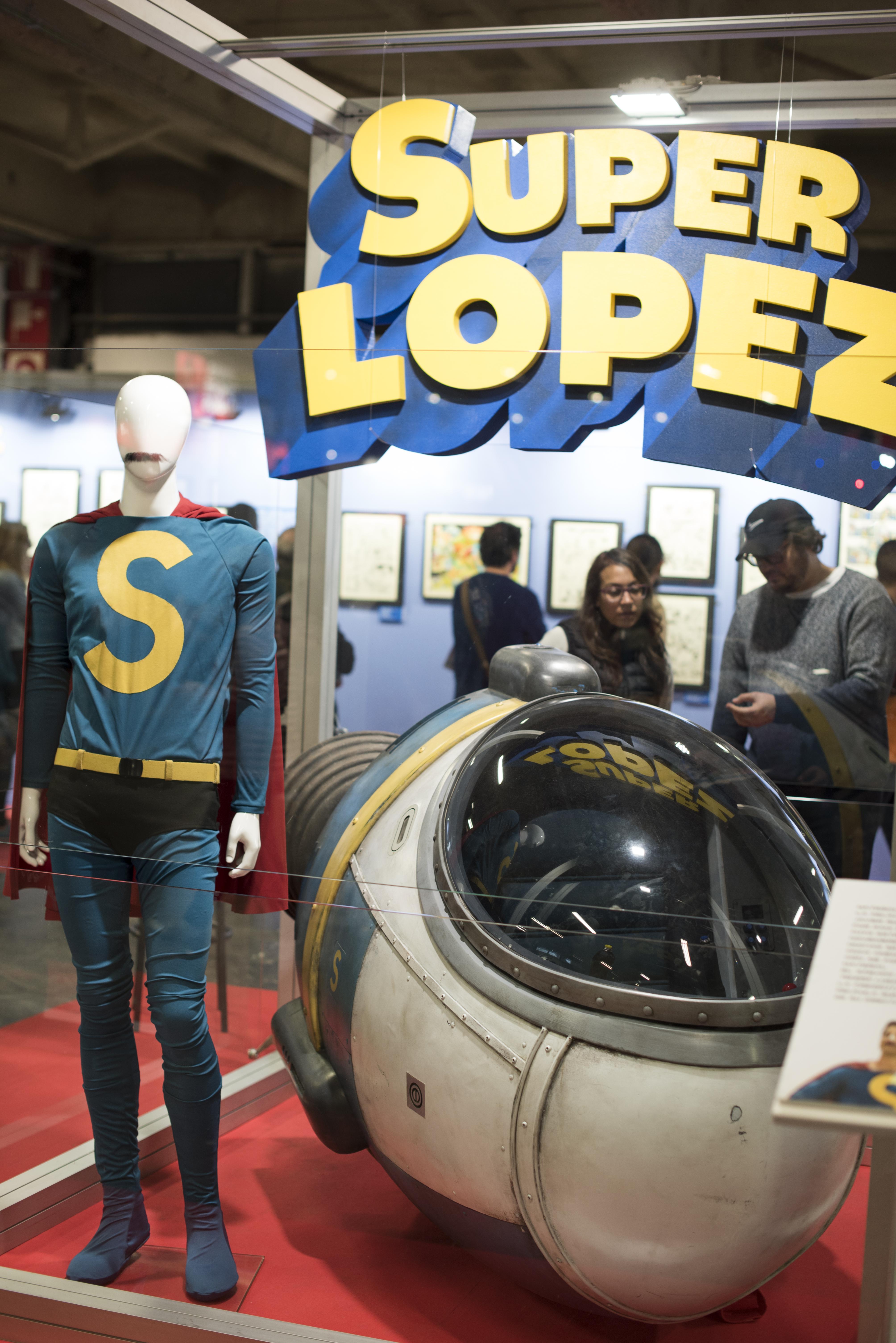 Material original de la nueva película dedicada a Superlópez y protagonizada por Dani Rovira.