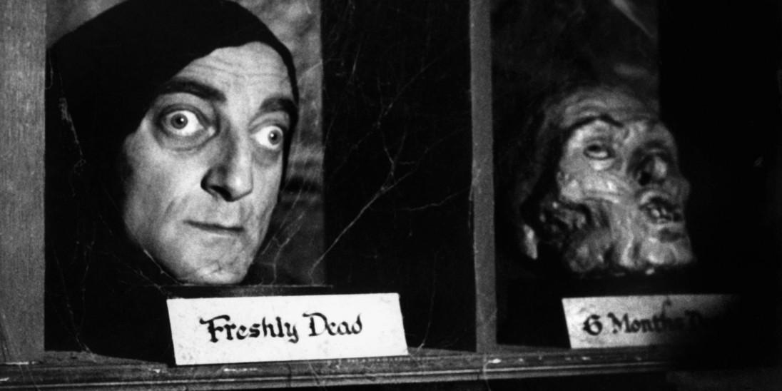 Igor en El jovencito Frankenstein
