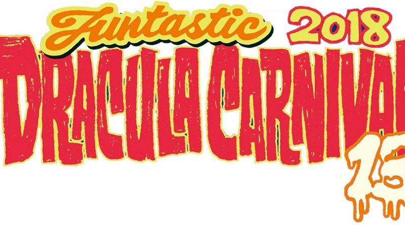 Funtastic Dracula Carnival 2018. 1, 2 y 3 de noviembre en Benidorm.