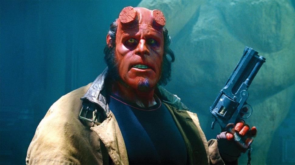 Ron Perlman en Hellboy.