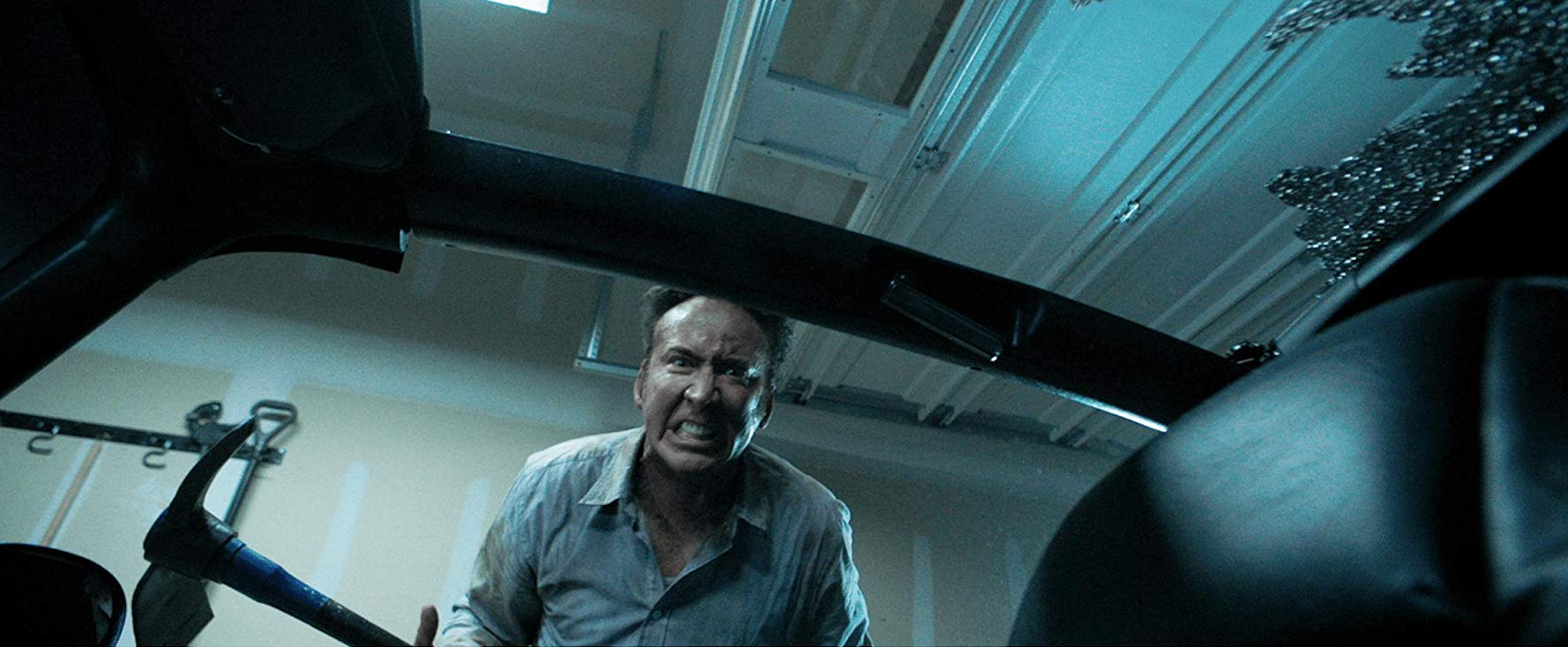 Nicolas Cage pasado de vueltas.