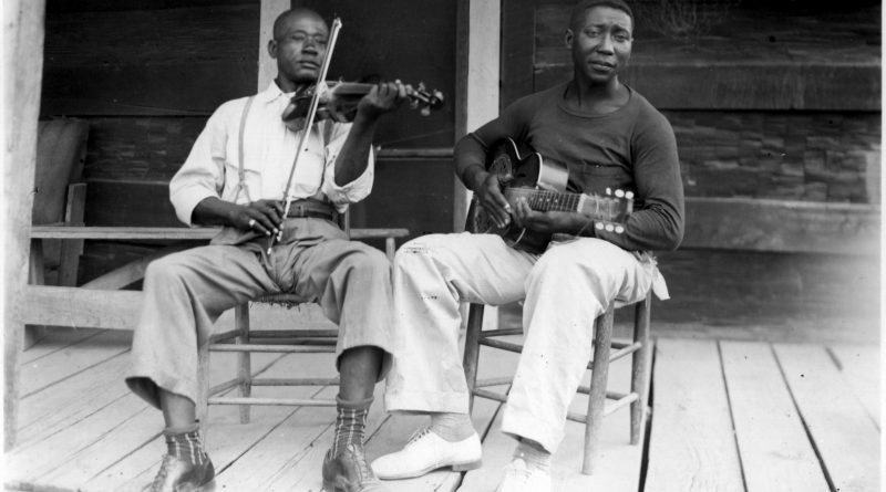 Son Sims y Muddy Waters
