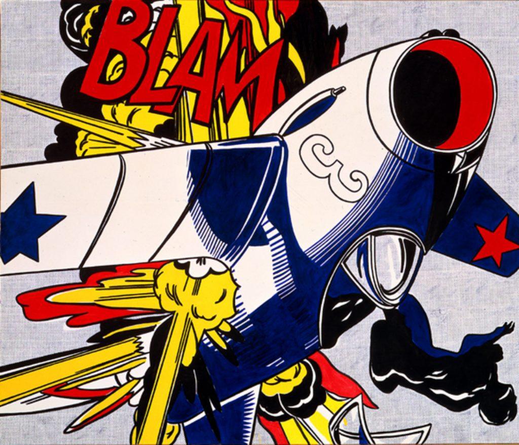 Blam, de Roy Lichtenstein.