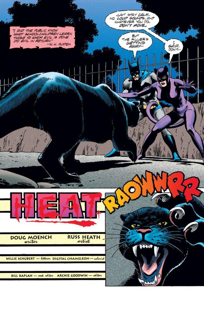 Batman y Batwoman, en una aventura dibujada por Russ Heath.