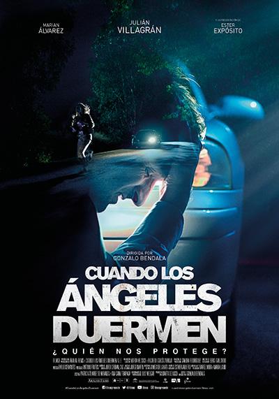 Cartel de Cuando los ángeles duermen, 2018.