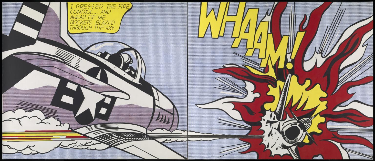 Whaam, de Roy Lichtenstein.