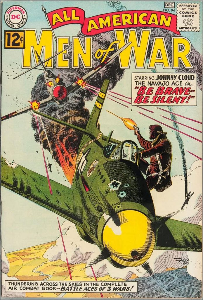 Portada de Russ Heath para All American Men of War.