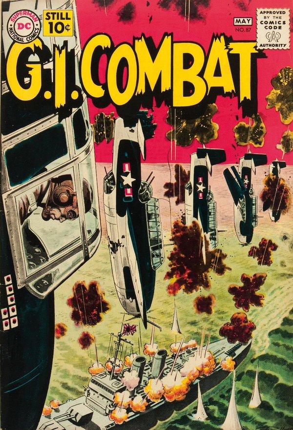 Portada de Russ Heath para G.I. Combat.