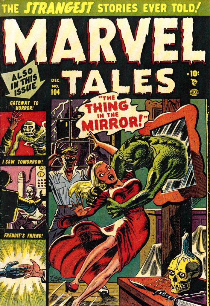 Portada de Russ Heath para Marvel Tales.