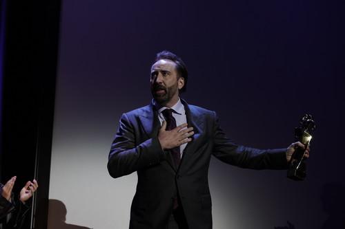 Nicolas Cage ha venido al Festival de Sitges a recibir el Gran Premio Honorífico y presentar Mandy.