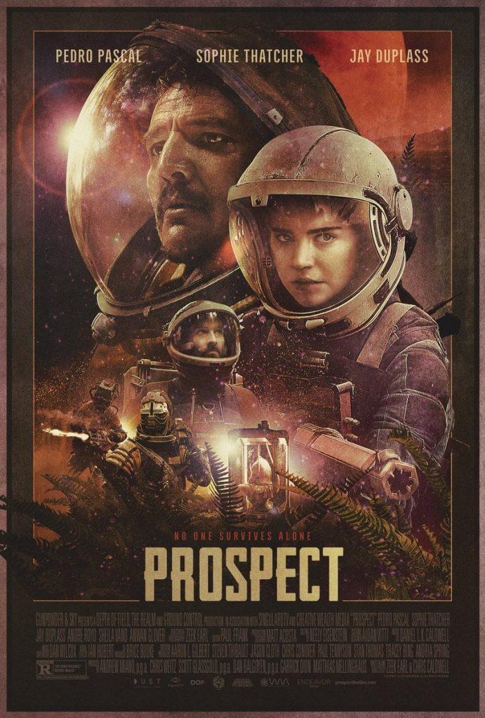 Cartel de Prospect, 2018.
