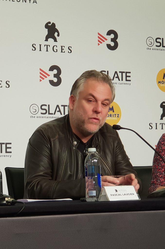 Pascal Laugier, director de Ghostland, en el Festival de Sitges.