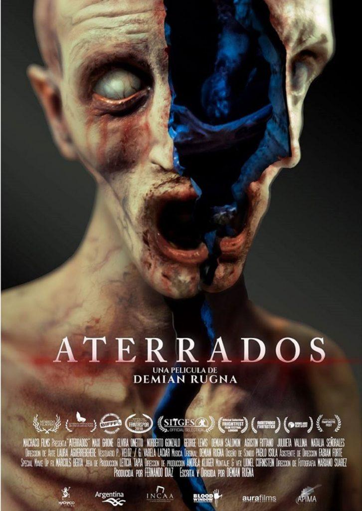 Cartel de Aterrados. 2018.