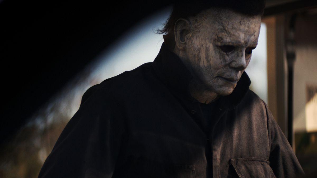 La máscara de Michael Myers también ha envejecido.