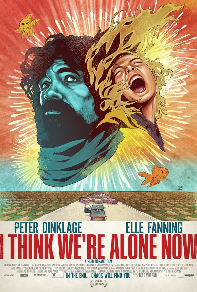 Cartel de I Think We're Alone Now (2018)
