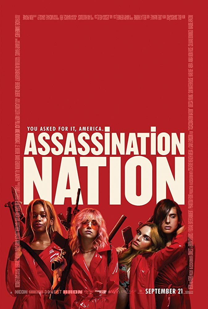 Cartel de Assassination Nation, 2018.