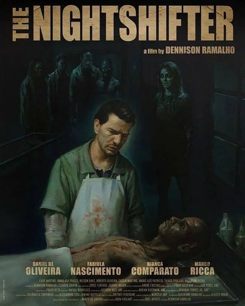 Cartel de Morto Ñao Fala - The Nightshifter (2018)