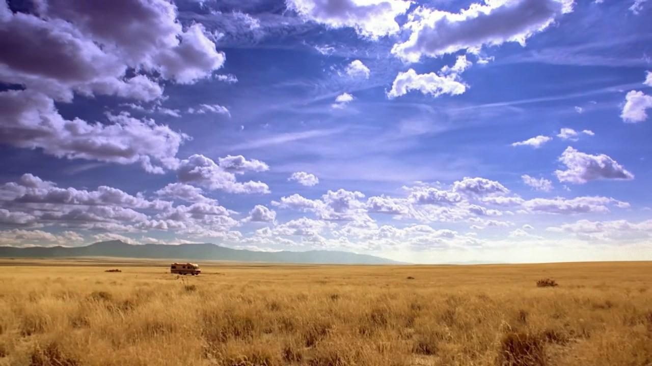 El paisaje de Nuevo México en Breaking Bad.