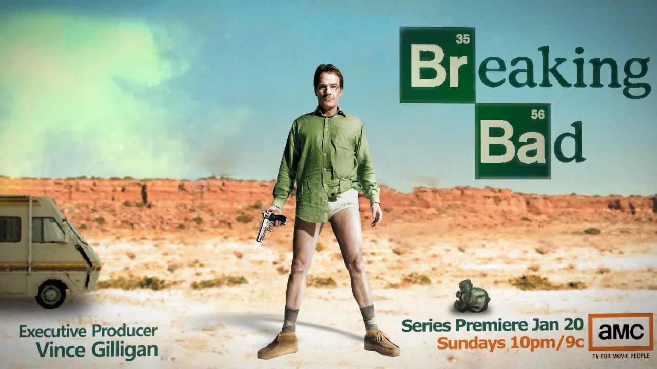 Anuncio de la premiere de Breaking Bad