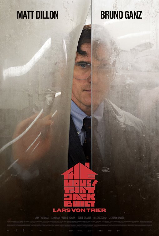Cartel de The House that Jack built (2018)