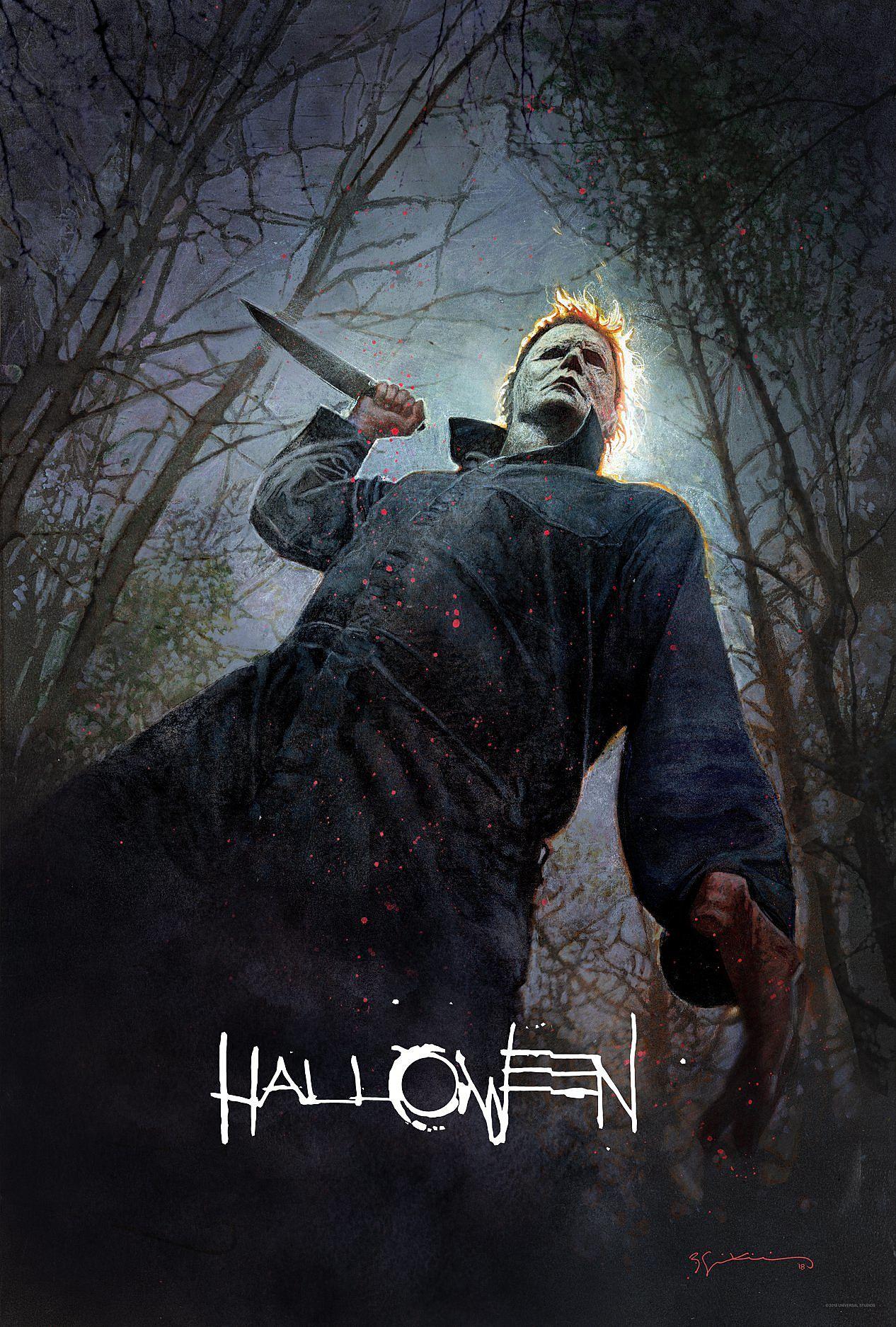Cartel de La Noche de Halloween, 2018.