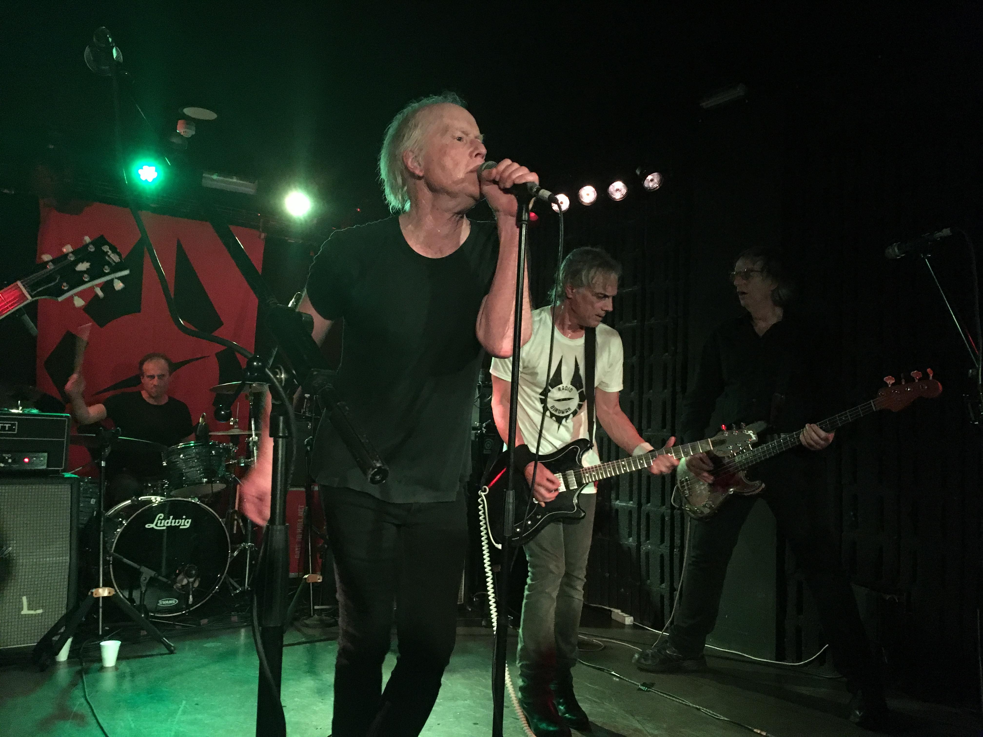 Radio Birdman en Granada, noviembre de 2018.