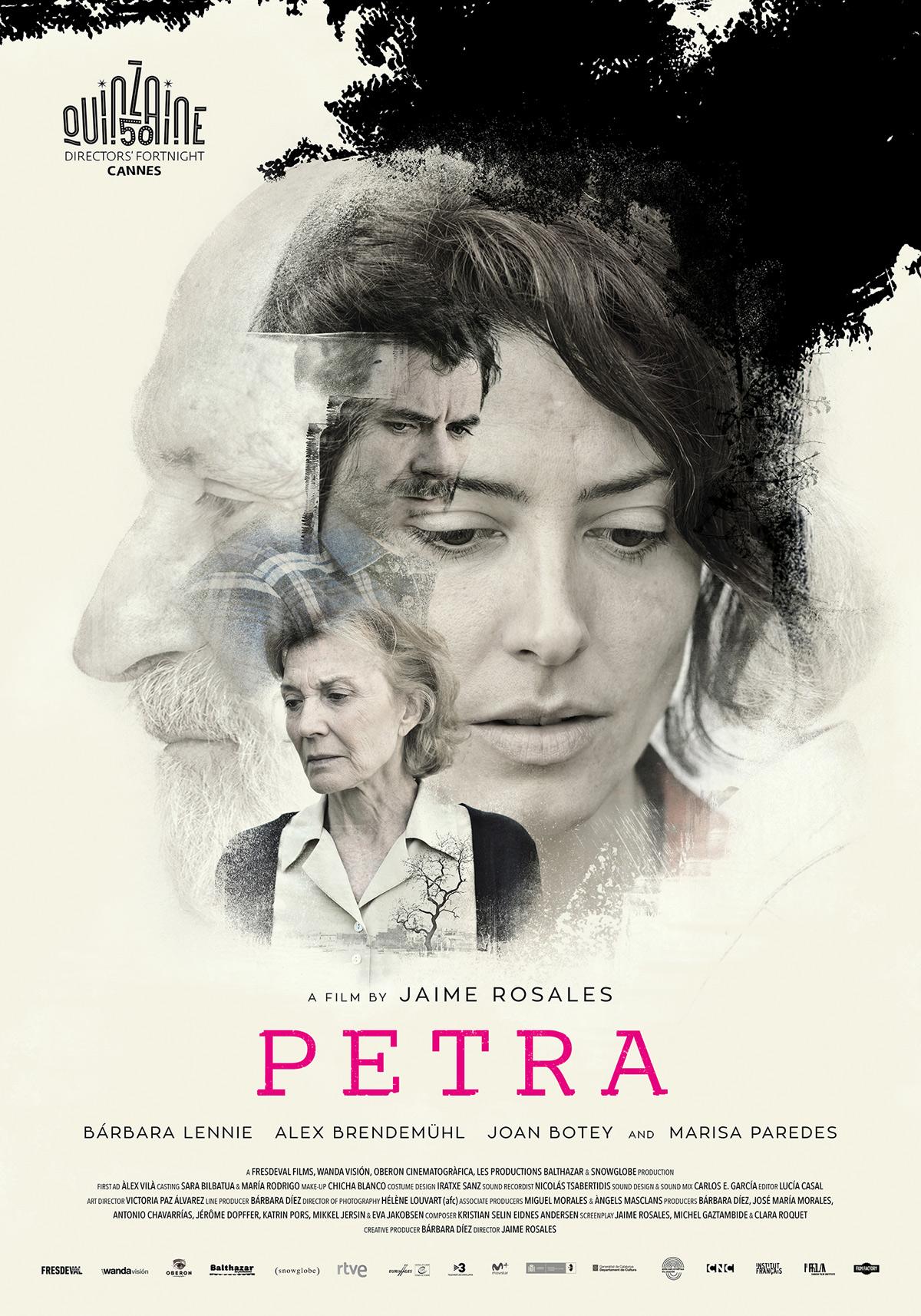 Cartel de Petra, de Jaime Rosales, 2019.