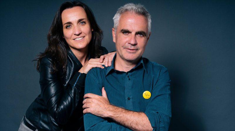 Isabel López y Miguel López, autores de El Aullido de la Noche